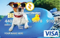 Custom VISA Card Image
