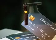 credit cards with graduation cap