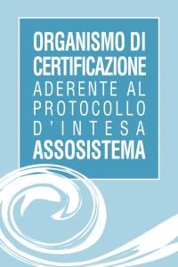 GCERTI ITALY aderisce al protocollo Assosistema UNI EN 14065