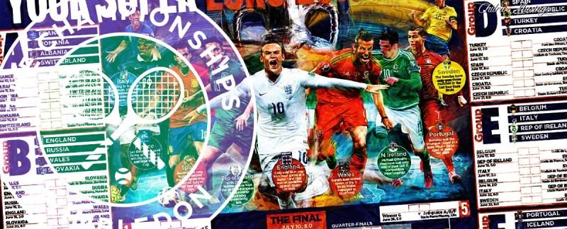 Euro Cup Wayne Rooney