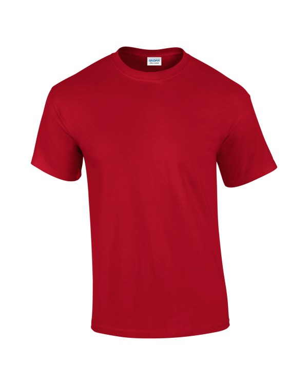 Mens T-shirt cherry red