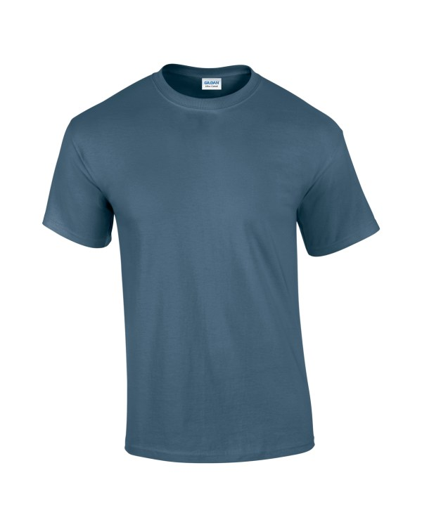 Mens T-shirt indigo blue
