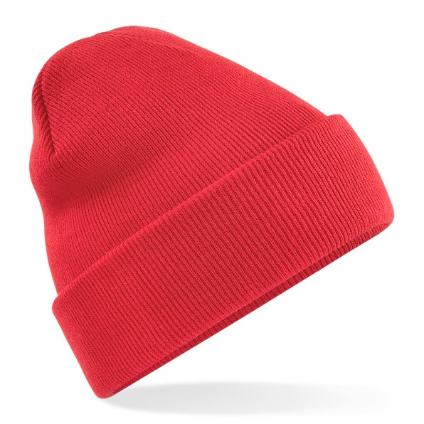 Beanie Hat bright red