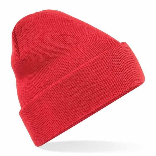 Beanie Hat bright red