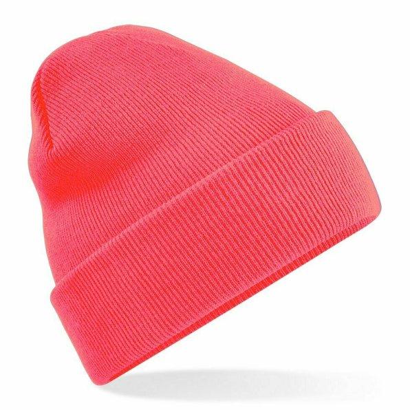 Beanie Hat Fluorescent Pink