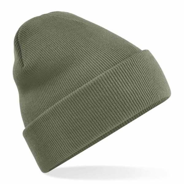 Beanie Hat Olive Green