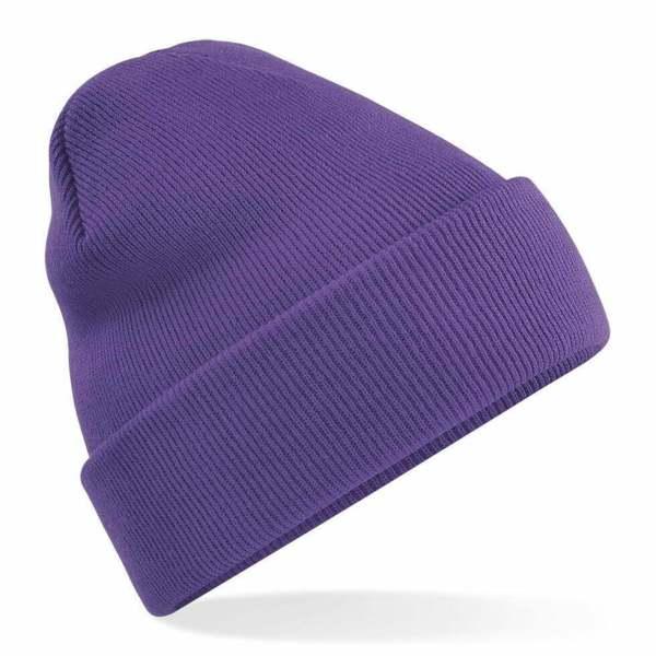 Beanie Hat Purple