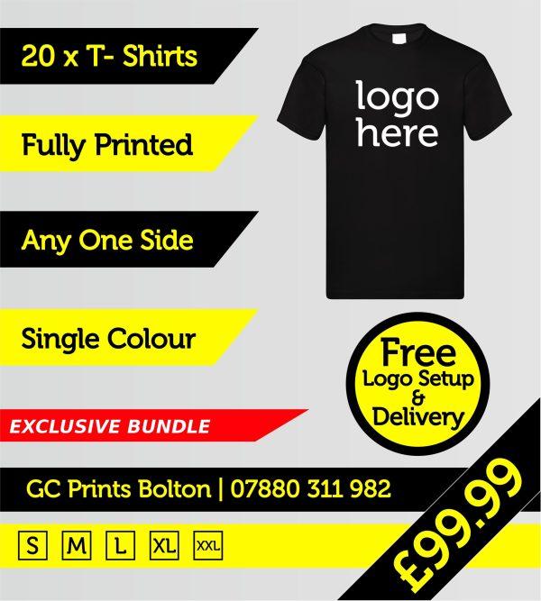 t-shirts printed