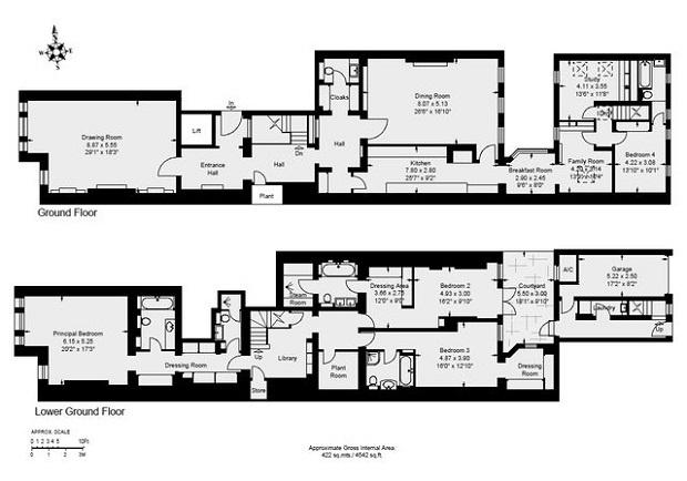 For Sale, Four Bedroom Apartment, Cambridge Gate, London