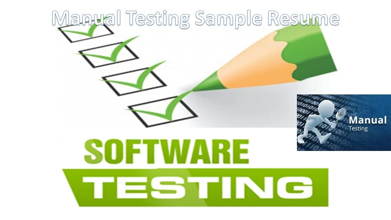 software testing resume