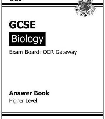 GCSE Biology OCR Gateway Answers (for Workbook) by CGP