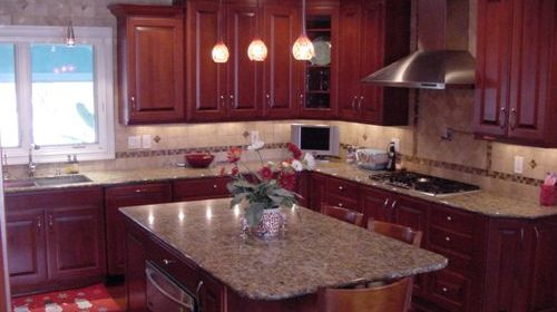 kitchen countertops materials pictures genesee cut stone & marble - michigan granite ...