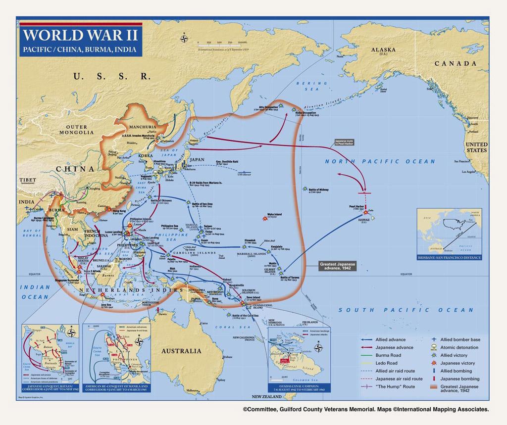 World War 2 Asian Pacific Theater