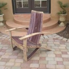 Wine Barrel Chair Gaming For Xbox One Adirondack Woodworking Plans By Gold Country Woodworks Adiorndack Plasns