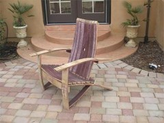 barrel stave adirondack chair plans antique walnut dining table and chairs wine woodworking by gold country woodworks adiorndack plasns