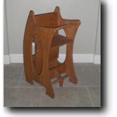 Adirondack Chairs Amish Kids School 3 In 1 High Chair - Baby Sitter Woodworking Plans
