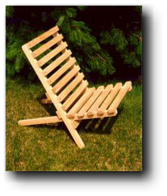 wood projects chair