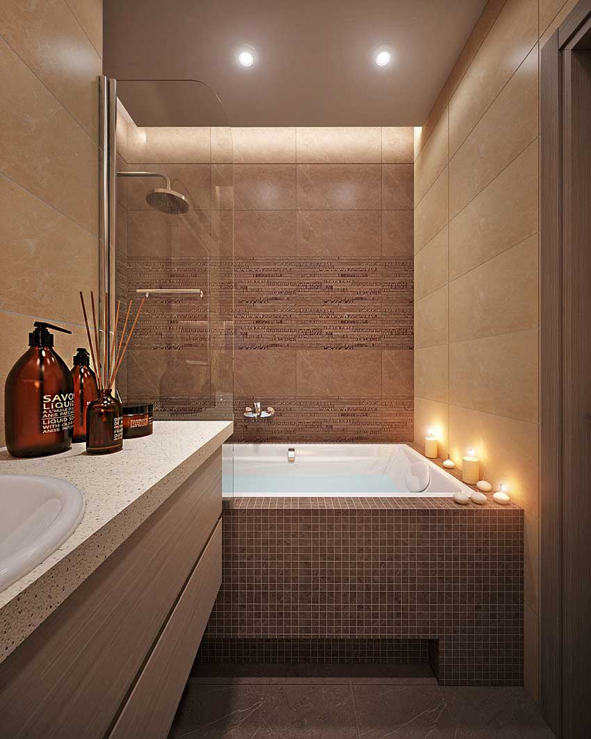 ванная 4 кв м дизайн фото 6