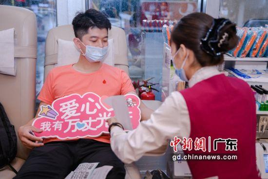 深圳龍華智慧捐血站啟用 愛心餐送獻血市民——中國新聞網·廣東