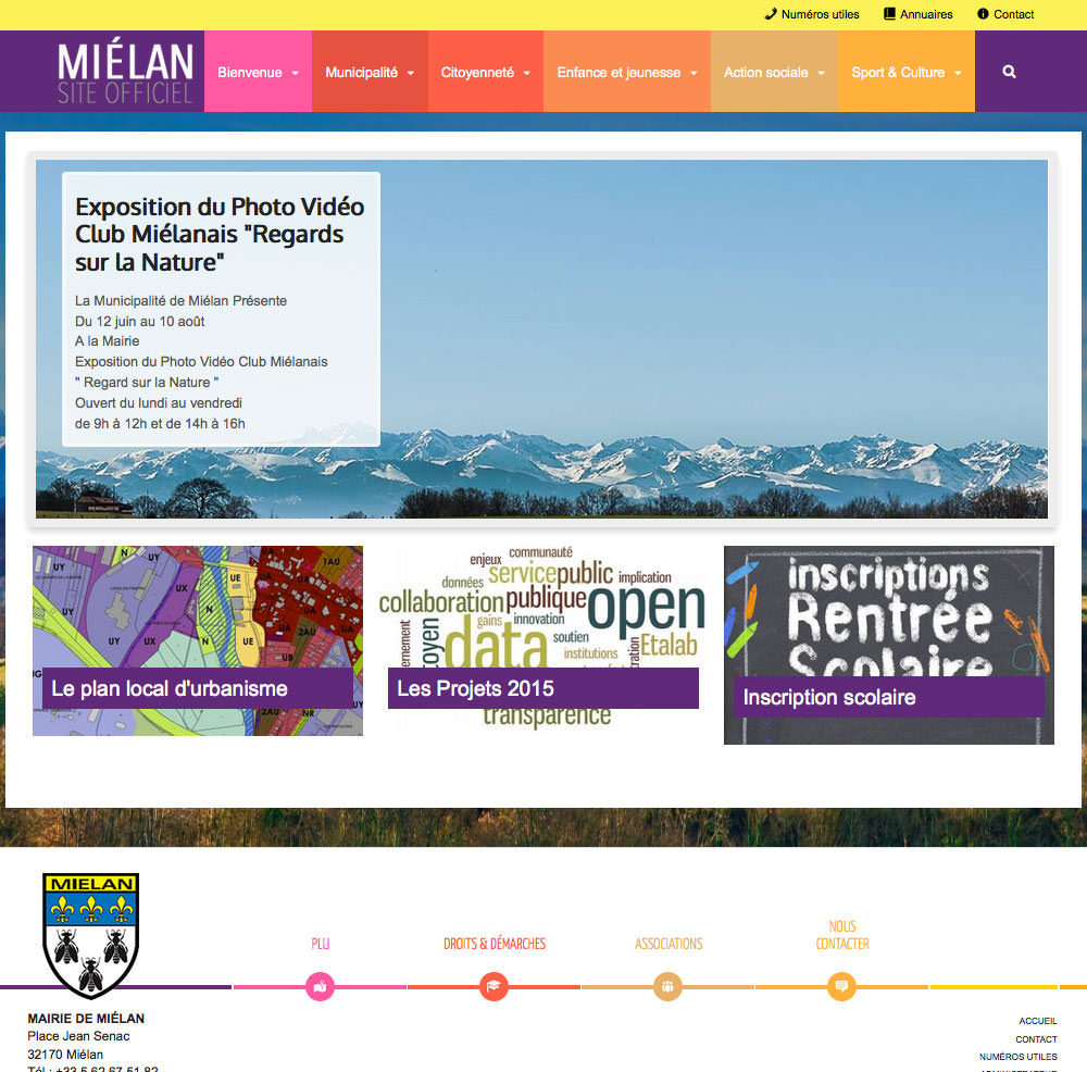 Mairie de Mielan