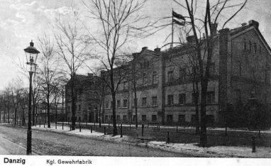 Gdańska Fabryka Karabinów (Gewehrfabrik)