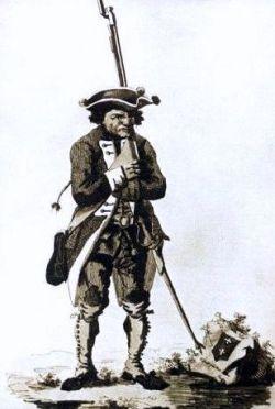 Żołnierz garnizonu miasta Gdańska