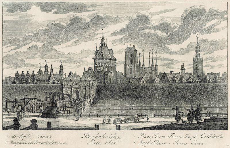 Brama Wyżynna Matthaeus Deisch 1761–1765