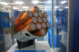 wystawa - model multibeam receiver system