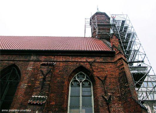 kościół w remoncie