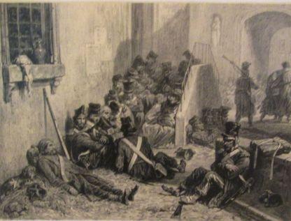 epidemia tyfusu w Moguncji 1814 rok