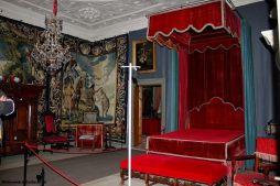 Palac Skokloster, jedna z sypialni