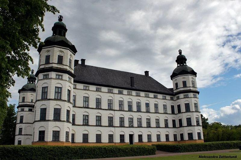 Pałac Skokloster w całej okazałości