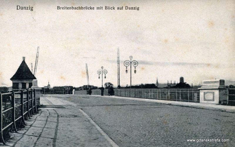 Most Siennicki, zdjęcie z początku XX wieku.