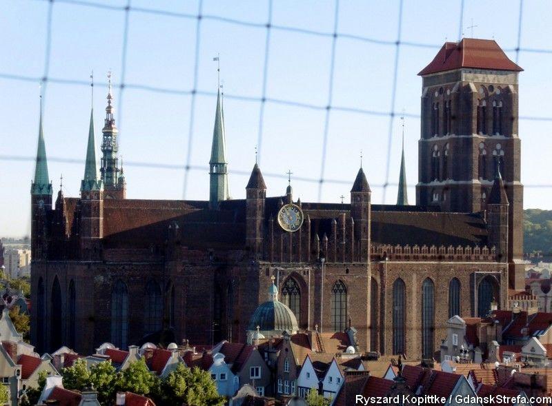 widok z kościoła św. Jana