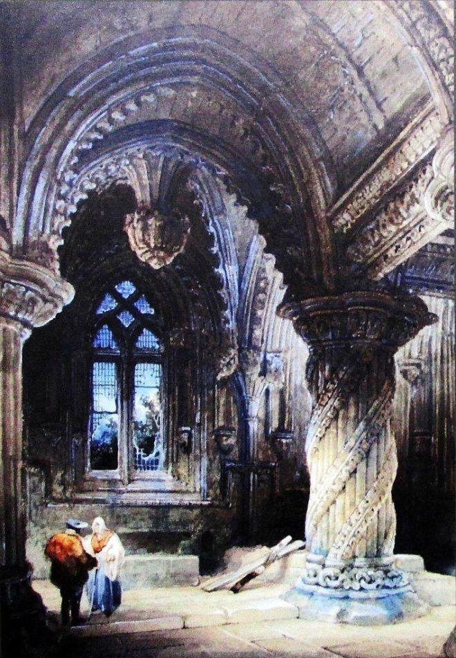 obraz Davida Robertsa 1830