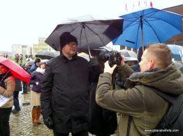 Prezydent gdańska w roli obrońcy demokracji