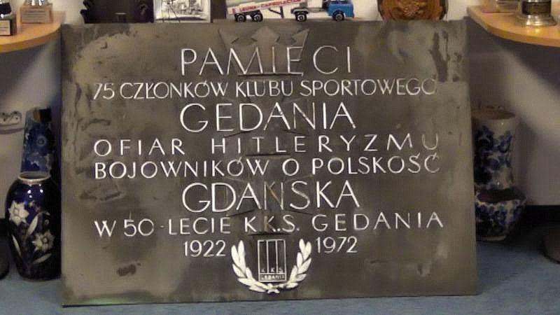 To tu, w gdańskim klubie Gedania, poza sportem rodził się duch patriotyzmu i walki z niemieckim okupantem