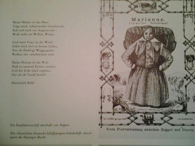 """Rycina z książki H. Lewalda """"Danzig so wie es war"""""""