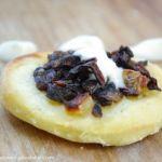 Ziemniaczane watruszki z grzybami