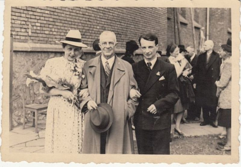 Ślub Marii i Witolda, autor zdjęcia nieznany