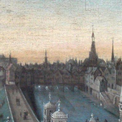 Pont Saint Michel w 1577