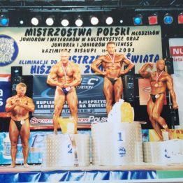 Mistrzowsta Polski 2003 r. fot. Grzgorz Zieliński