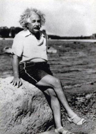 sandałki Einsteina, domena publiczna