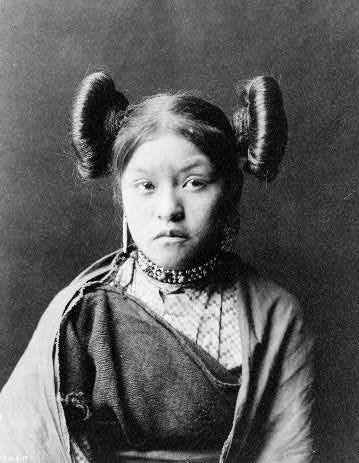 Indianka Hopi, domena publiczna