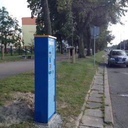 parkometr na al. Hallera
