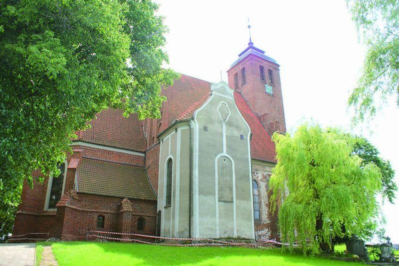 Kościół w Piasecznie; źródło: domena publiczna