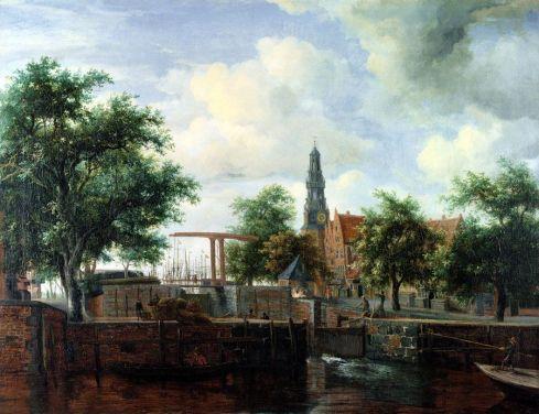 Haarlem, Amsterdam, 1663-65 - Meindert Hobbema