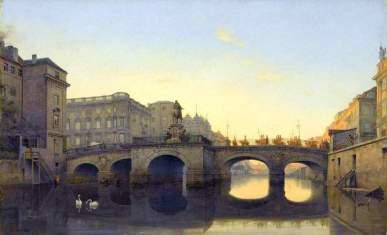 Długi Most w Berlinie - Eduard Gaertner, 1842