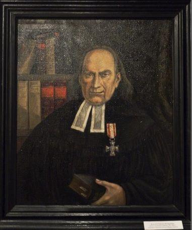 Obraz z muzeum - Domu Mrongowiusza w Olsztynku