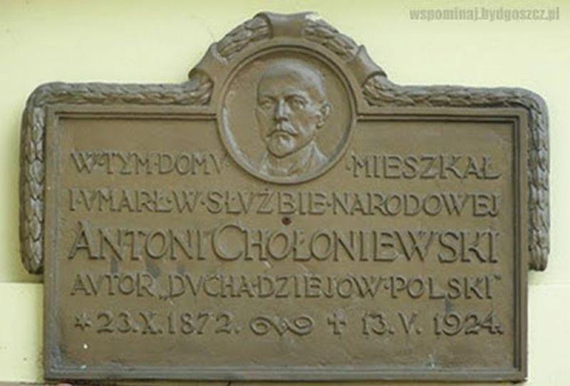 tablica pamiatkowa w Bydgoszczy